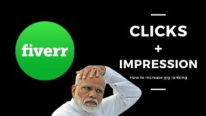 How to increase your fiverr gig impression or clicks