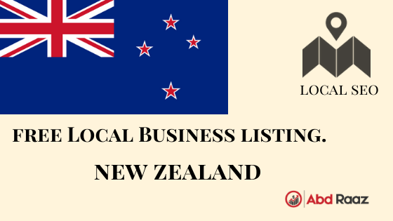 Local Citations list for New Zealand