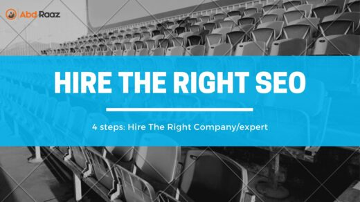 hire the right SEO company