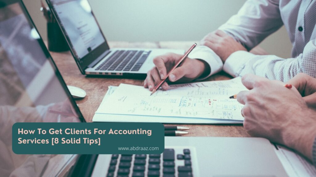 get clients for accounting business