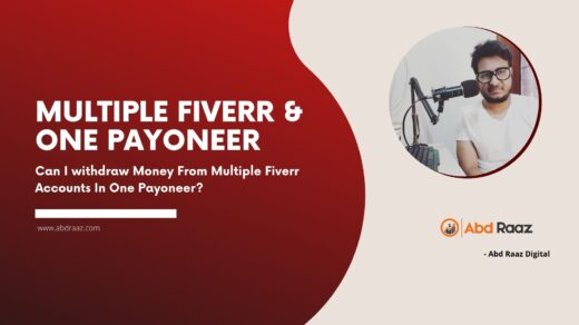 Can I Use One Payoneer Account With Multiple Fiverr Account?