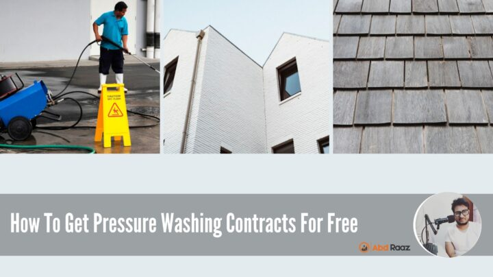 How To Get Pressure Washing Contracts For Free