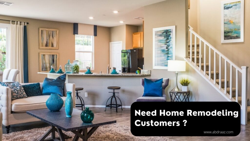 Promote Home Remodeling Business